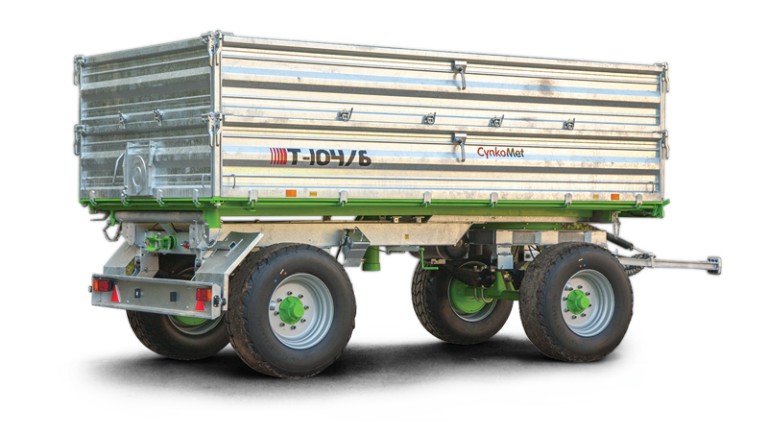 Rimorchio T-104/6  10 Ton