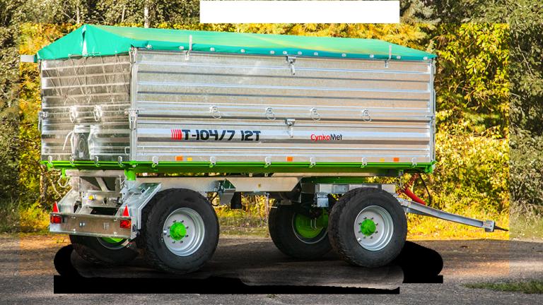 Rimorchio T-104/7 12 Ton