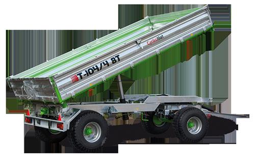 Rimorchio T 104 8-9 Ton