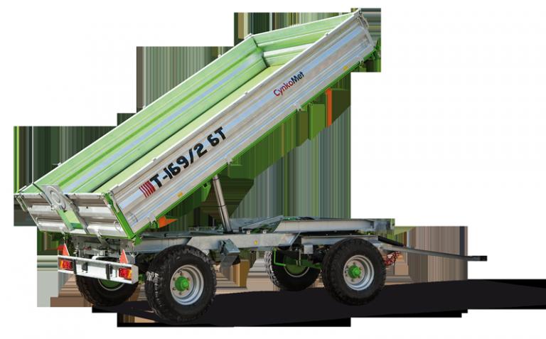Rimorchio T 169 4-6 Ton