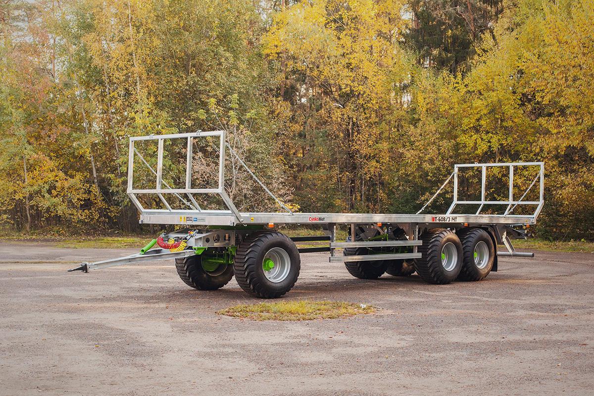 Rimorchio Fieno T 608 14 Ton
